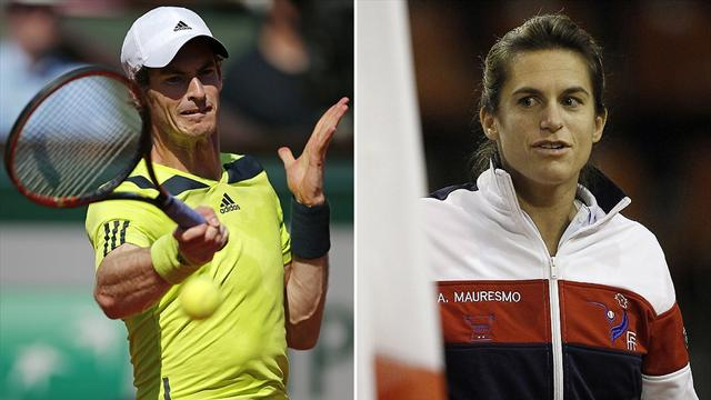 Andy Murray appoints Amelie Mauresmo as new coach