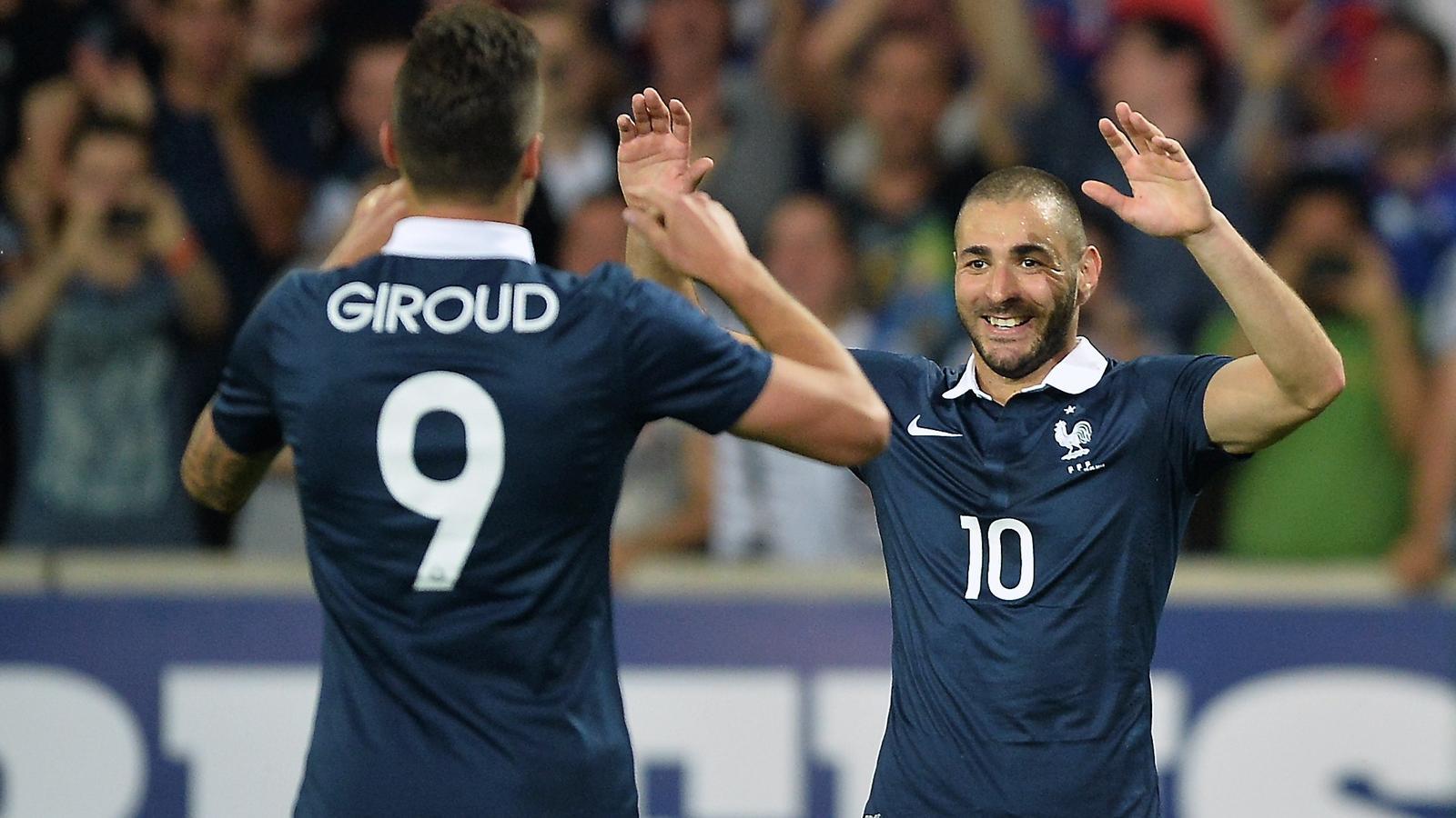 Video: France vs Jamaica