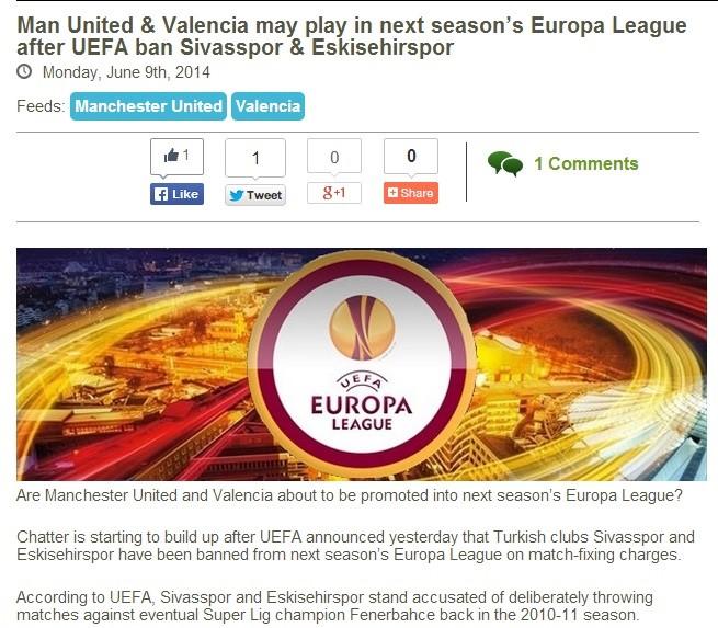 UEFA'nın men cezası