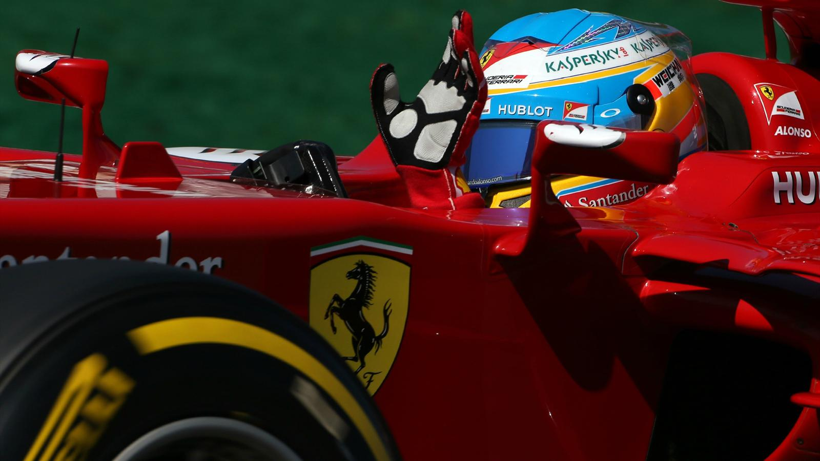 Fernando alonso ferrari a manqu de vitesse de pointe grand prix du canada 2014 formule 1 - Formule vitesse de coupe ...