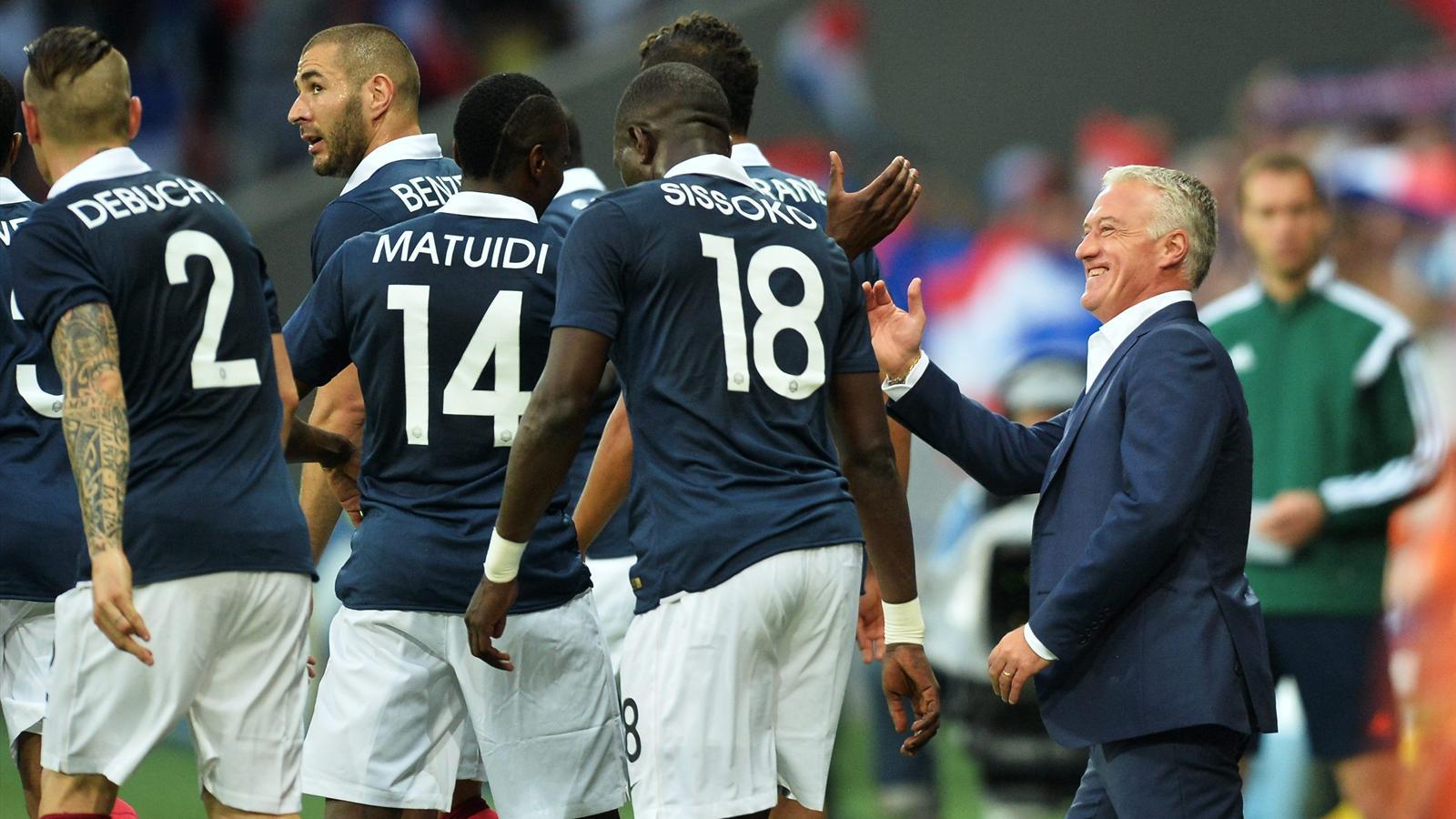 Coupe du monde de lloris sissoko avec deschamps tout est clair en quipe de france coupe - Classement equipe de france coupe du monde 2014 ...