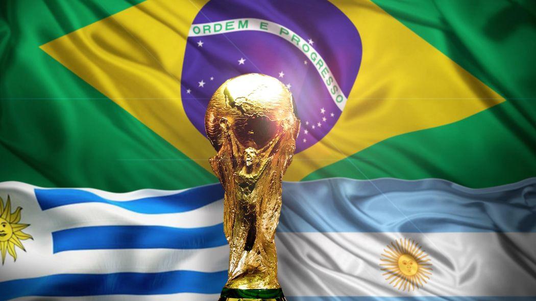 Coupe du monde 2014   Brésil, Argentine et Uruguay, l un d entre-eux sera à  l arrivée - Coupe du monde 2014 - Football - Eurosport 7668d38ae2b6