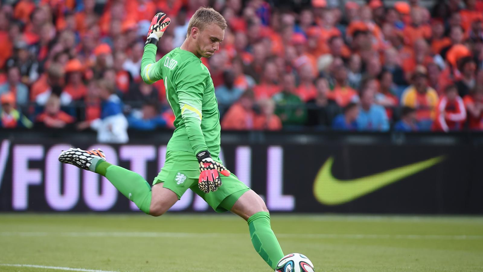 Netherlands goalkeeper Jasper Cillessen