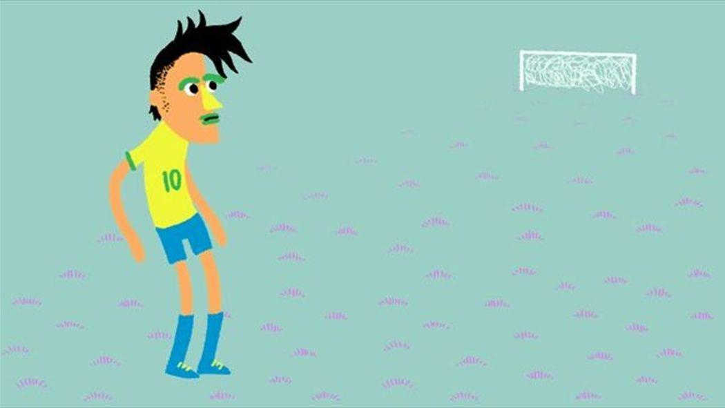 Coupe Du Monde Le Football Samba Selon Neymar En Un Gif