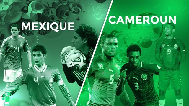 Mexique - Cameroun, le match qui doit faire oublier les primes