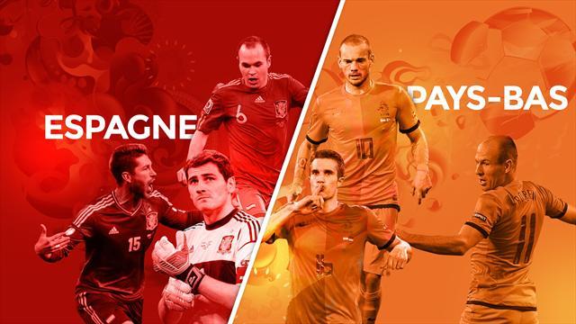 Espagne - Pays-Bas, le match qui a (encore) des allures de finale