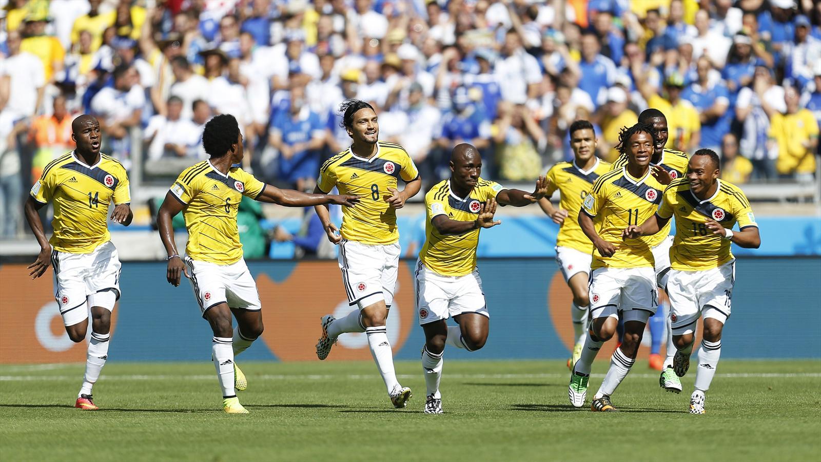 Live colombie gr ce phase de groupe coupe du monde 2014 football eurosport live score - Groupes coupe du monde 2014 ...