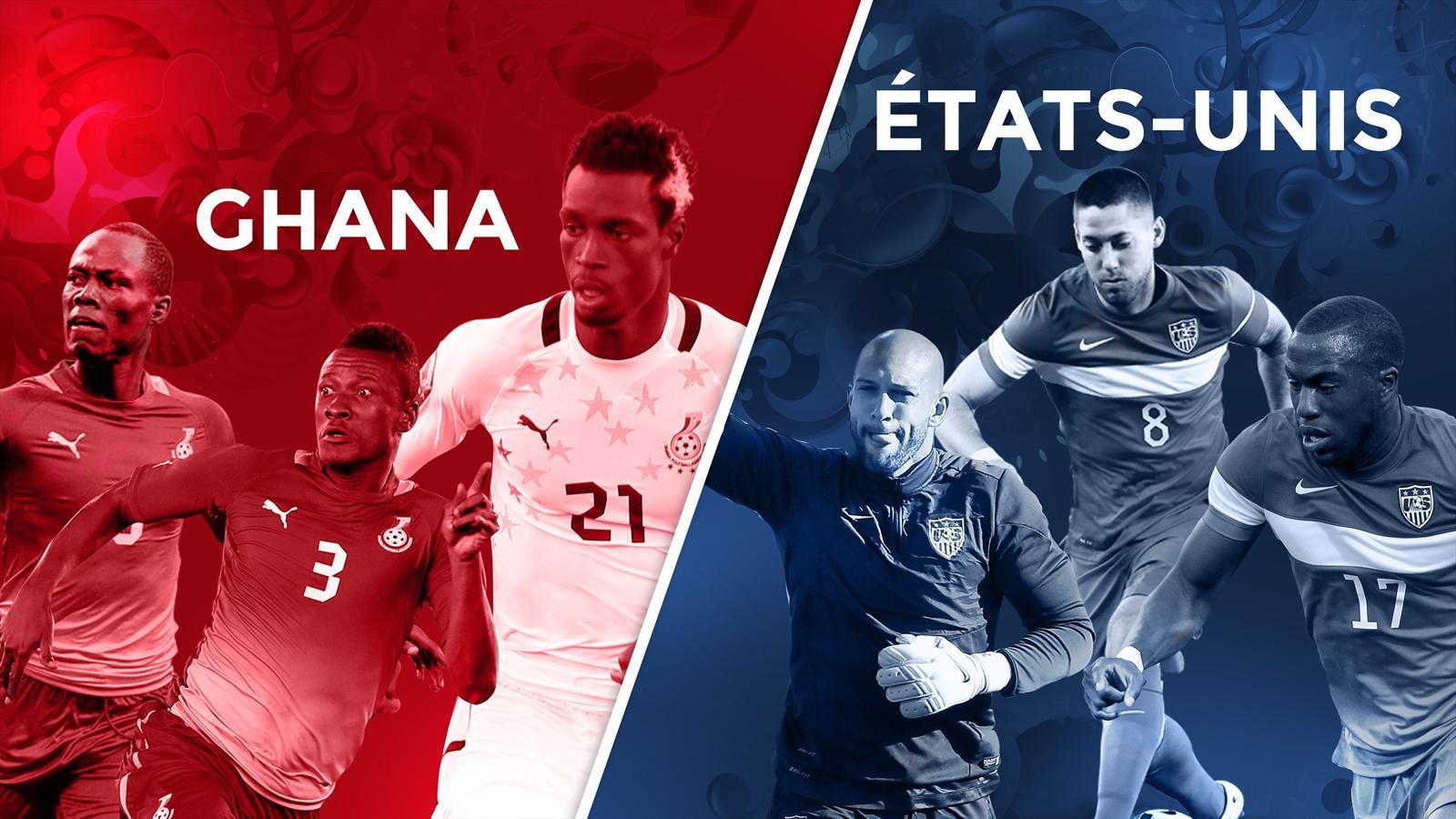 En direct live ghana etats unis coupe du monde 17 juin 2014 eurosport - Coupe du monde etats unis ...