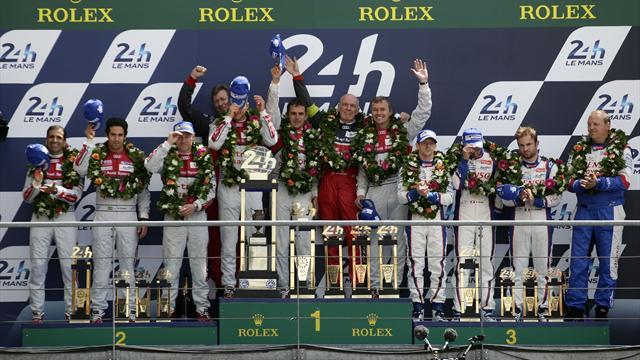 Гонщики Audi выиграли старейшую в мире гонку на выносливость