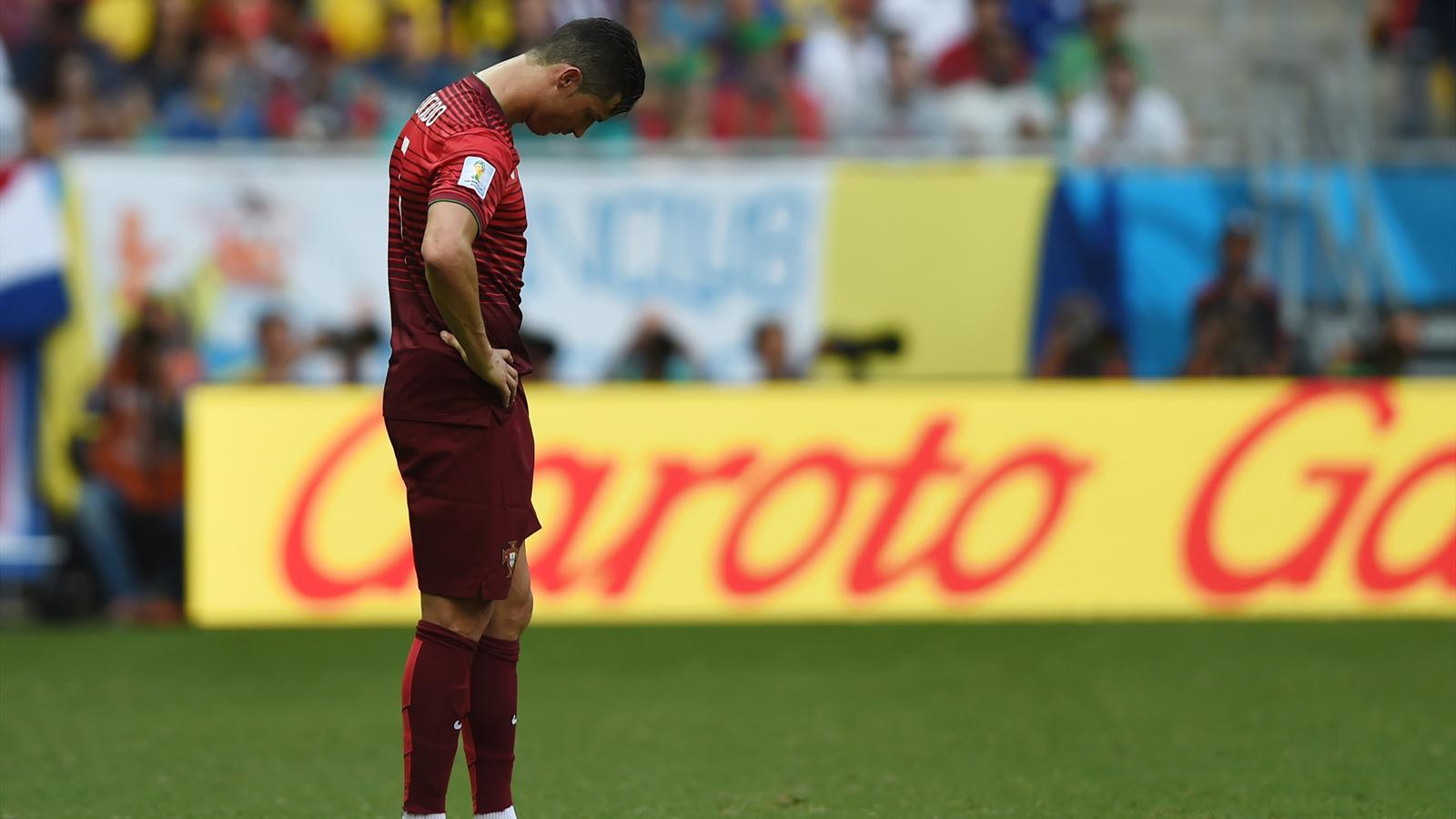 Allemagne-Portugal (4-0) : Comme toute la Seleçao, Ronaldo est passé à côté