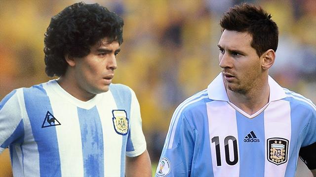 Giornata mondiale dei mancini: Messi-Maradona-Recoba, la Top 11 dei migliori sinistri di sempre