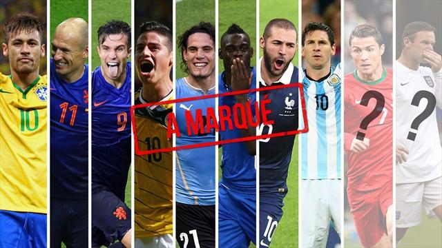 Ils ont tous marqué, sauf Cristiano et Rooney