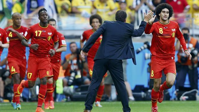 Трудную победу сборной бельгии