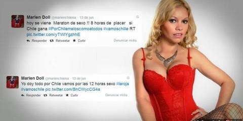 Чилийская порно актриса сексмарафон видео