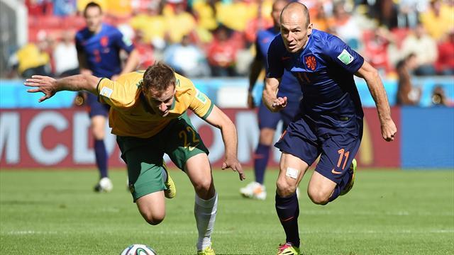Vainqueurs de l 39 australie 3 2 les pays bas se rapprochent de la qualification coupe du - Vainqueurs coupe du monde ...