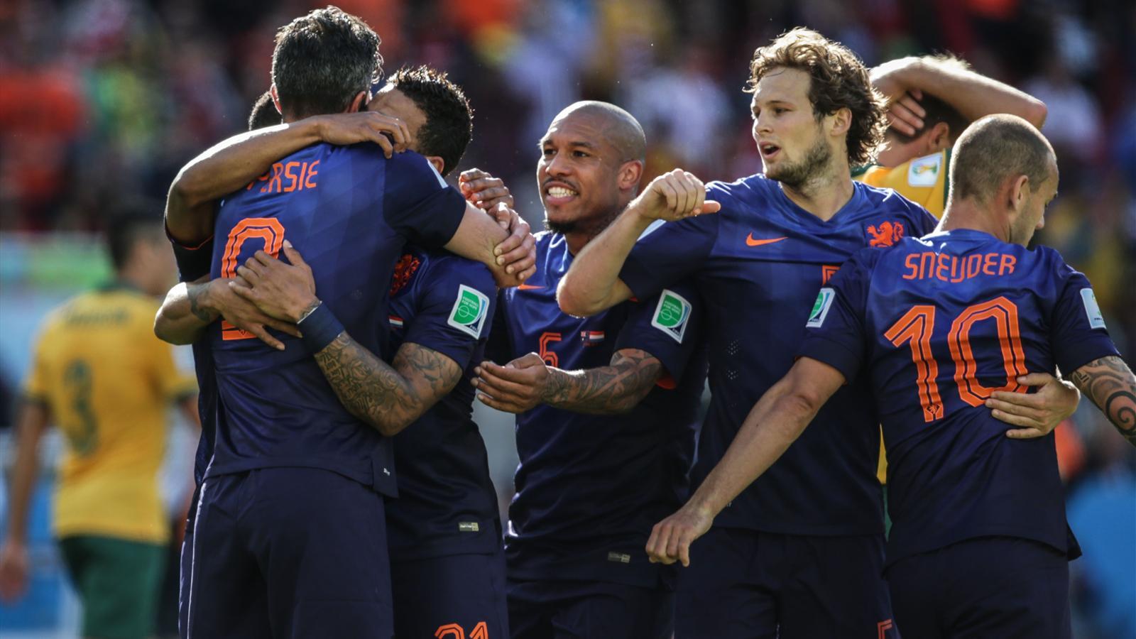 Australie - Pays-Bas (2-3): La furia oranje survit aux Socceroos pour rallier les 8es