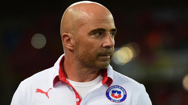 Sampaoli reste à la tête de la sélection du Chili jusqu'au Mondial 2018