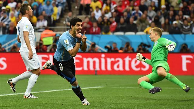 Titulaire, Luis Suarez a joué un mauvais tour à l'Angleterre