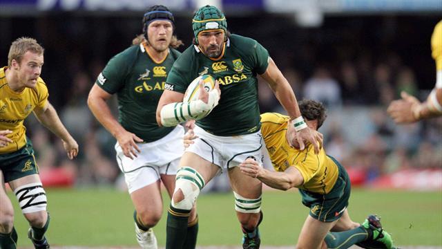 Matfield va entrer dans l'histoire des Springboks