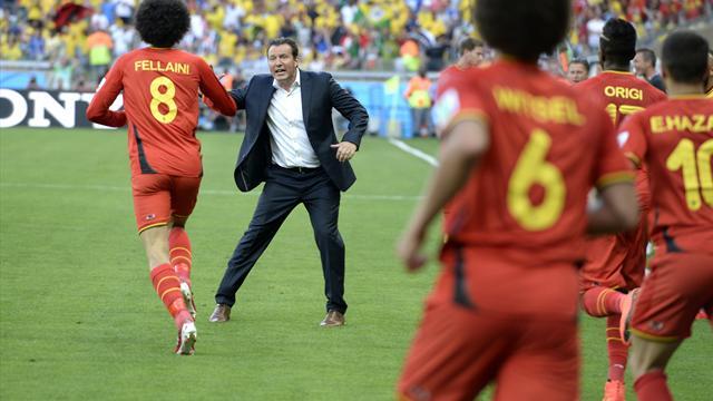 Coupe du monde 2014 marc wilmots belgique brise les codes avec un coaching plut t inhabituel - Coupe du monde belgique 2014 ...