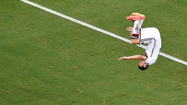 Miroslav klose allemagne inscrit son quinzi me but en coupe du monde record de ronaldo gal - Record coupe du monde football ...