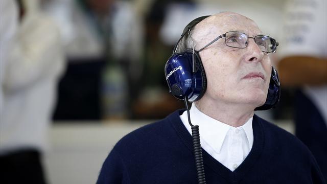"""A 75 ans, Williams est """"toujours obsédé par la F1"""""""