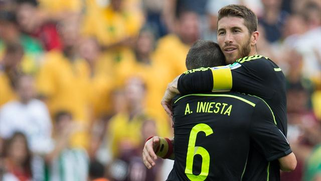 Ramos : «Si Iniesta s'appelait Andresinho, il aurait deux Ballons d'Or»
