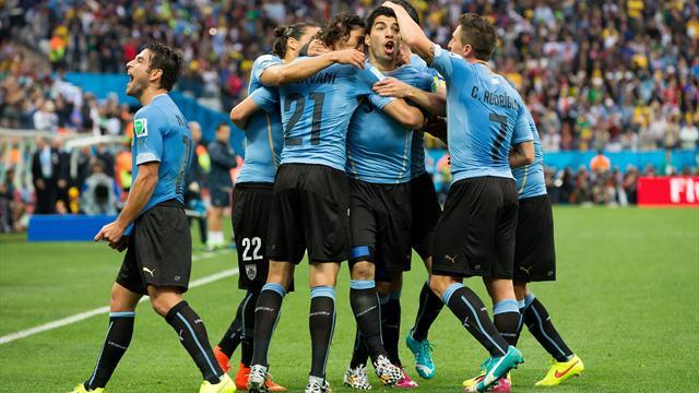 L'Italie et l'Uruguay tentent de suivre le Costa Rica : le point sur le groupe D