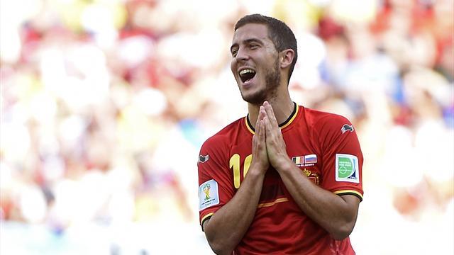 Hazard ruled out of Belgium games through injury