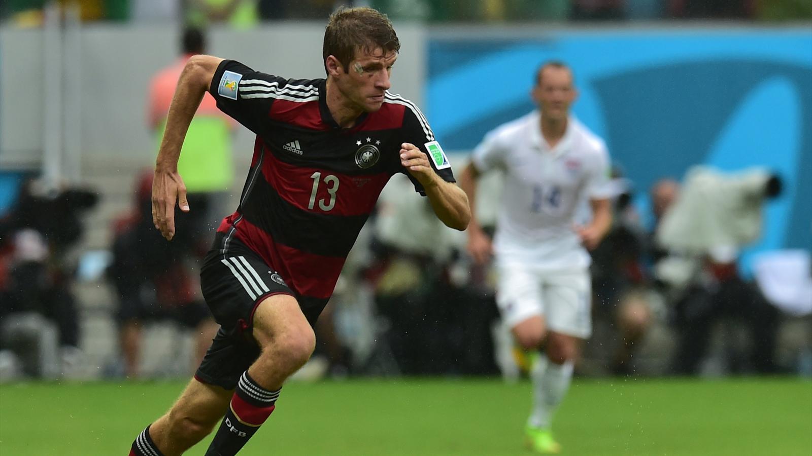 Thomas Müller en est à 4 buts au Mondial 2014, et 9 buts en Coupe du monde. A seulement 24 ans.