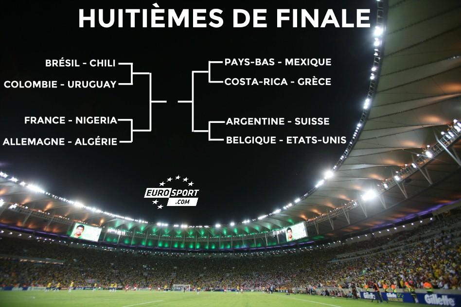 huitièmes de finale - Coupe du monde 2014