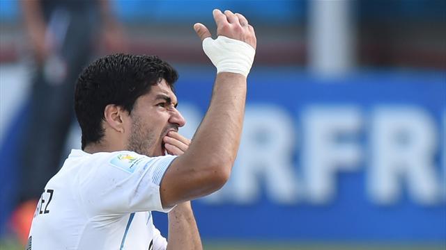 Suarez doit se faire soigner, estiment la FIFA et la FIFPro