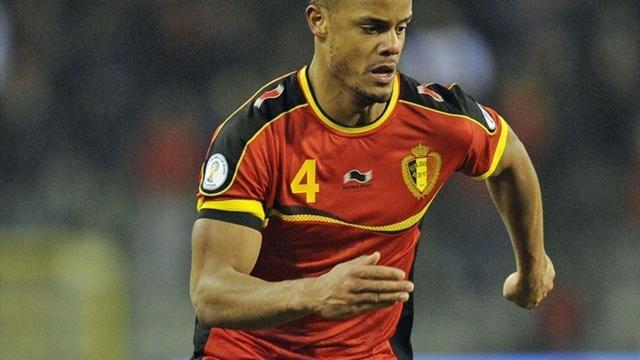 Vincent Kompany, capitaine de la Belgique, annonce son forfait