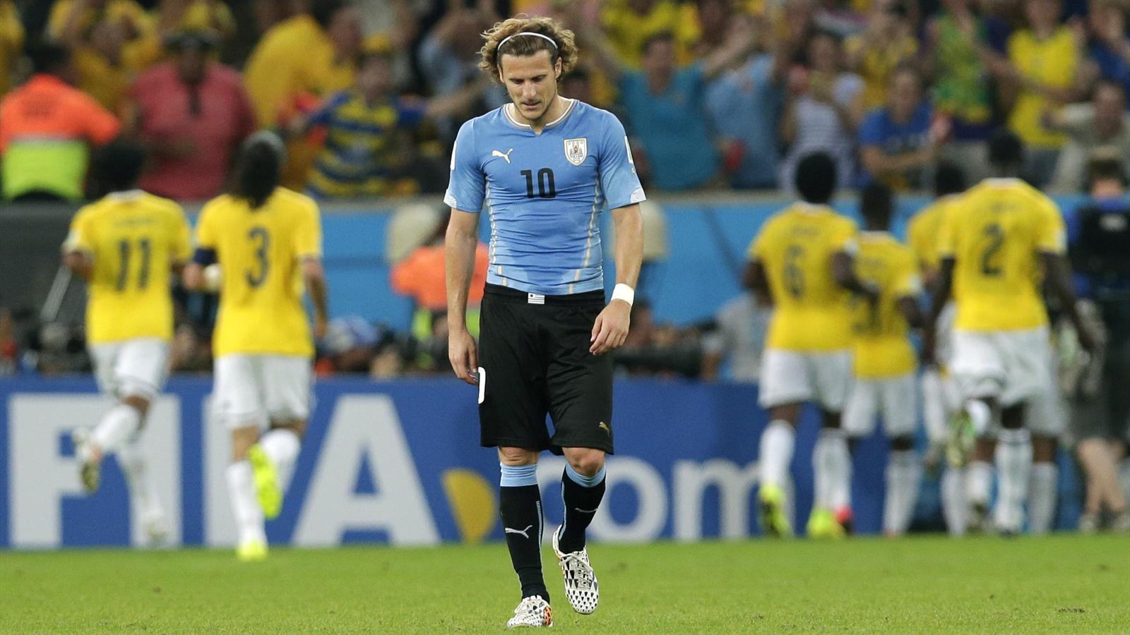 Diego Forlan Colombia Uruguay 2014 AP/LaPresse