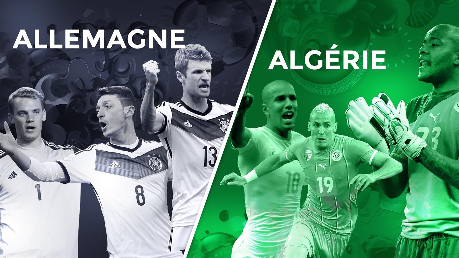 Allemagne alg rie le match que la mannschaft n a pas - Algerie allemagne coupe du monde 2014 ...