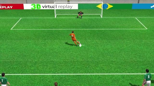 3D goal: Huntelaar wins it in injury time