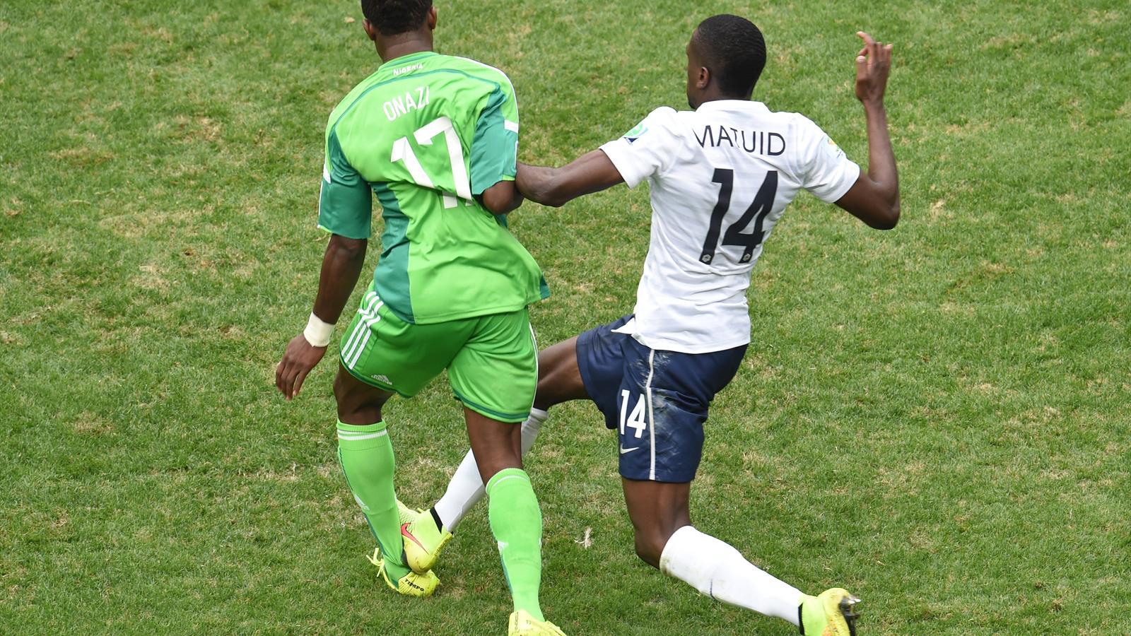 Onazi Matuidi France Nigeria 2014 AFP