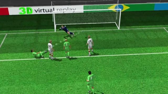 3D goal: Abdelmoumene Djabou for Algeria