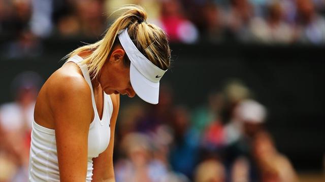 Sharapova, Keys withdraw from Birmingham
