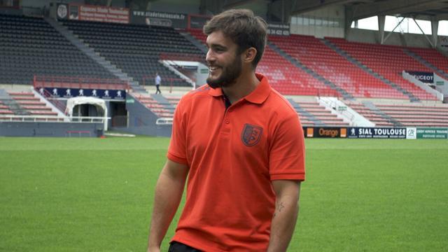 """Palisson: """"Petit, j'étais fan de Toulouse"""""""
