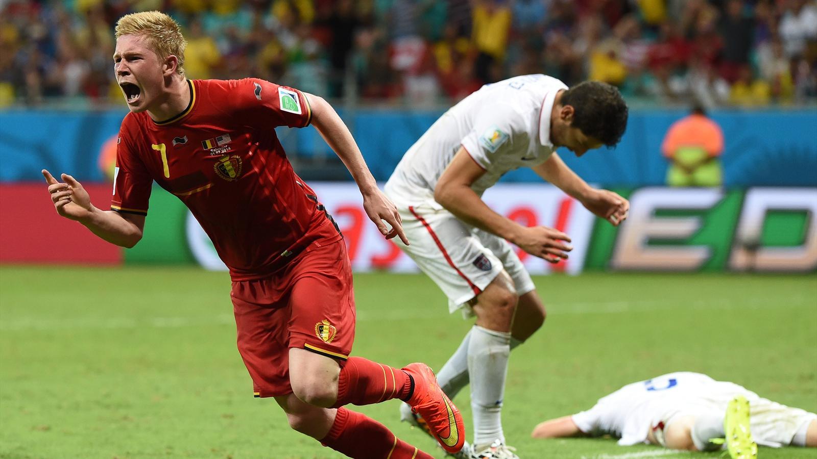 Coupe du monde 2014 belgique etats unis 2 1 ap les diables rouges en quart de finale - Coupe du monde belgique 2014 ...