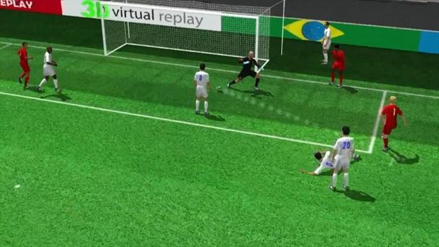 3D goal: Kevin De Bruyne for Belgium