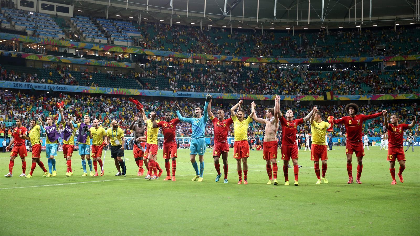 La belgique bient t premi re au classement fifa coupe du monde 2014 football eurosport - Classement coupe du monde 2014 ...