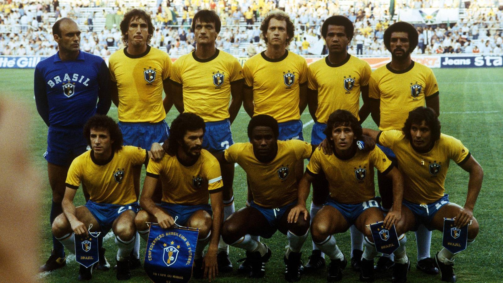 Sele ao 1982 une demi douzaine de demi dieux et deux boulets coupe du monde 2014 football - Coupe du monde de football 1982 ...