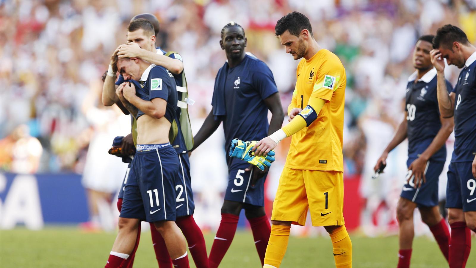 France allemagne les images d 39 un match tellement frustrant pour les bleus coupe du monde - Classement equipe de france coupe du monde 2014 ...