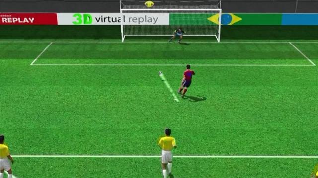3D goal: Rodriguez penalty