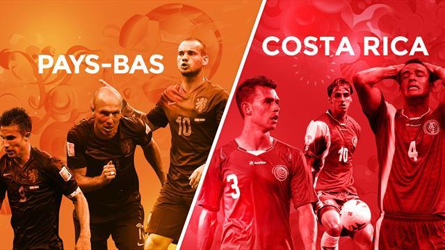 Pays-Bas – Costa Rica, le match qui a tout du match piège pour les Néerlandais