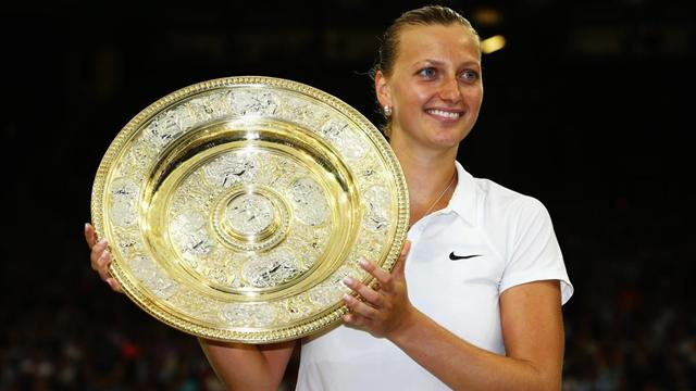 Kvitova relishing 'emotional' Wimbledon return after surviving knife attack