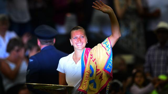 Kvitova, la femme de l'ombre retrouve la lumière