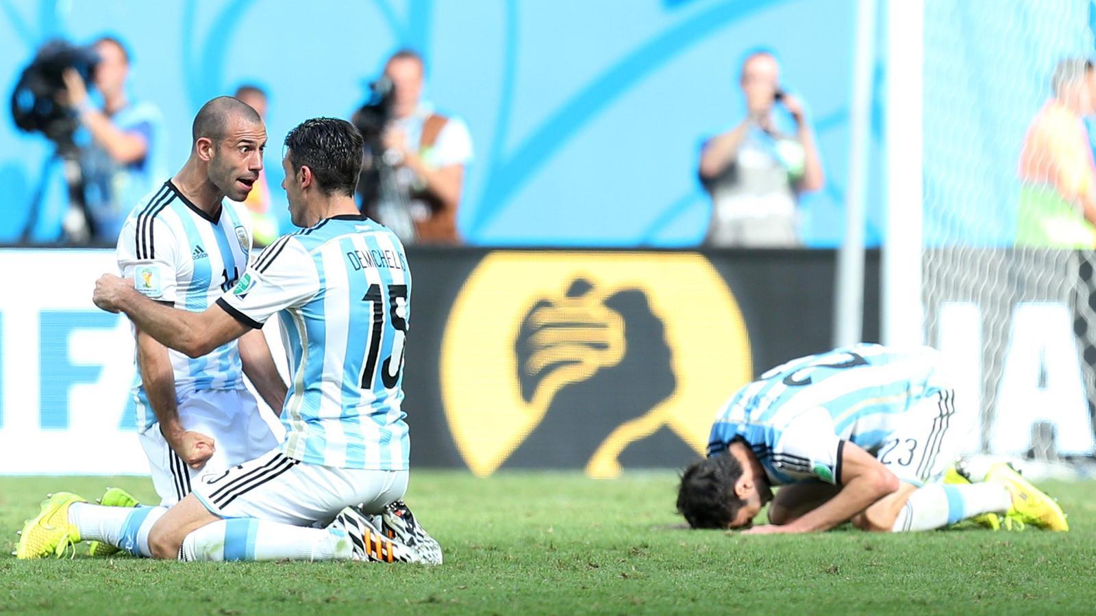L 39 argentine retrouve les demi finales d 39 une coupe du monde - Qualification coupe du monde en afrique ...